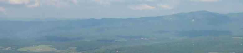 The Massanuttens from Shenandoah National Park