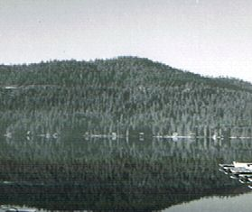 Donner Lake from north shore looking south