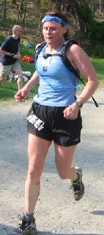 Marcia Peters finishes 2004 BRR