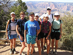 VHTRC Group on South Kaibab Trail