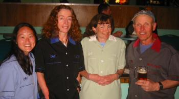 VHTRC Bowling Team members