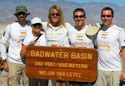 Alisa's Crew at Badwater