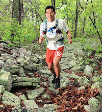 Yosuke Murase on the trail
